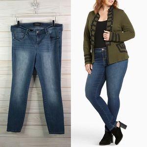 Torrid Premium Jeans Luxe Skinny Denim Plus Size